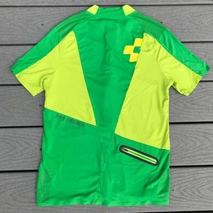 Cube AM Series Cycling Jersey Small Green 1/4 Zip
